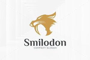 Smilodon Logo Template
