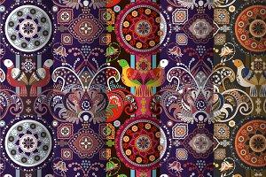 5 Bright Ornamental Patterns