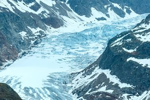 Alpine glacier