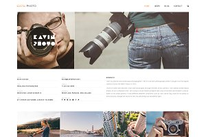 Kavin Photo - Blog Joomla Template