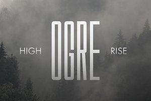 Ogre Typeface