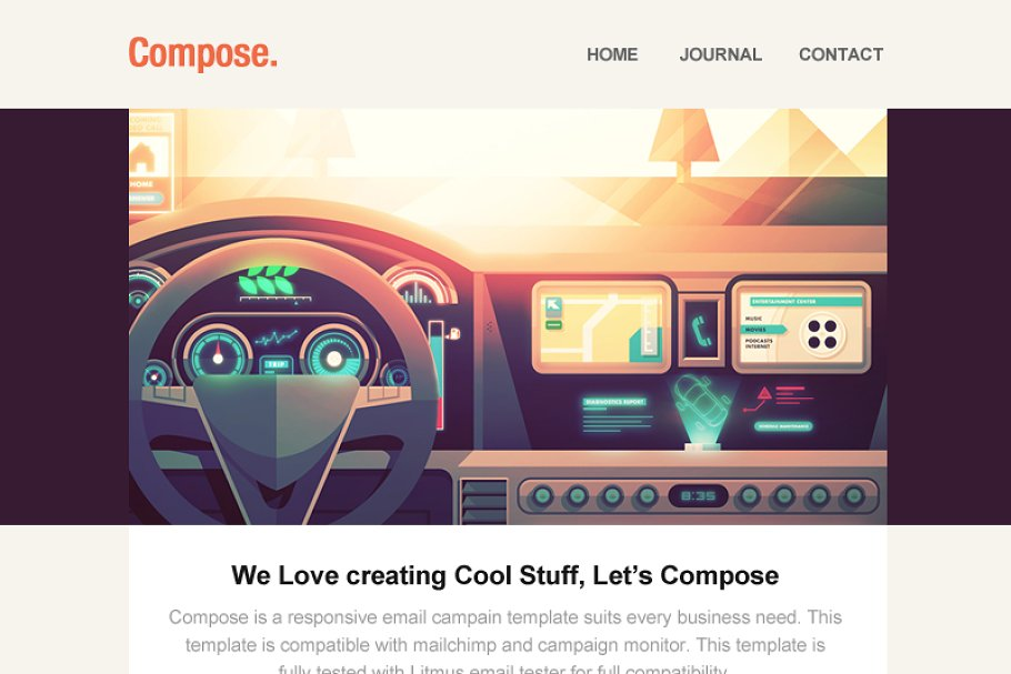 Compose - Responsive Email Template