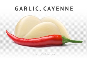 Garlic with cayenne