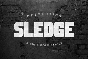 Sledge Typeface