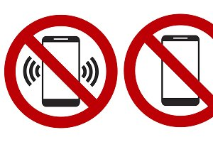 Ban on phone mobile