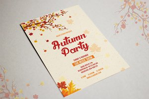 Autumn Festival Flyer Template-V405