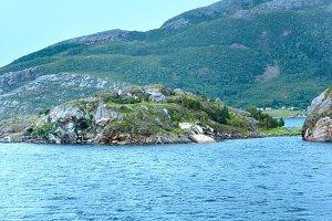 Ranfjorden summer view (Norway)
