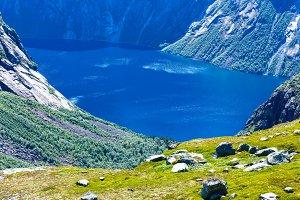 Ringedalsvatnet lake (Norway)