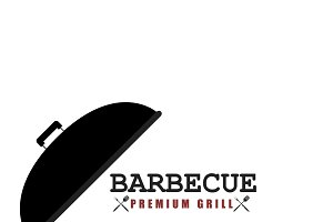 BBQ premium grill banner