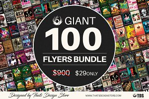 Giant 100 Flyers Bundle