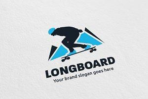 Longboard - Skateboard Logo