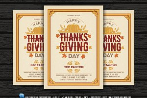 Thanksgiving Flyer / Invitation