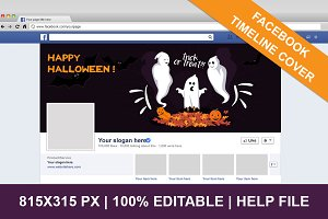 Halloween Facebook Timeline Cover