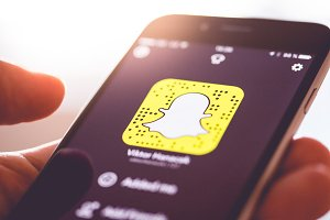 Snapchat App Snapcode Ghost Logo