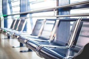 Airport Seats Terminal Waiting Area