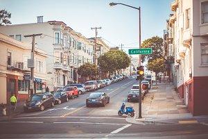 California Street Intersection