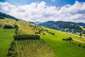 Wonderful Hills Scenery