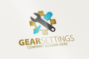 Gear Settings Logo