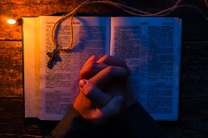 prayer on the bible