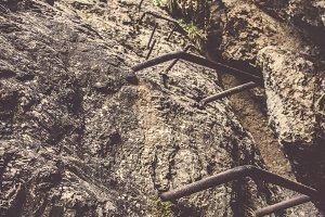 Steep Climbing Path