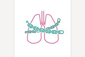 Vector Asthma Icon