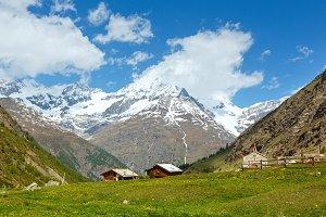 Summer Widderstein mountain,Austria