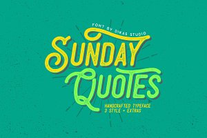 Sunday Quotes + Extras