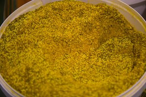 Seasoning Turmeric top view