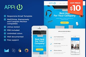 APPi1 - Responsive Email Template
