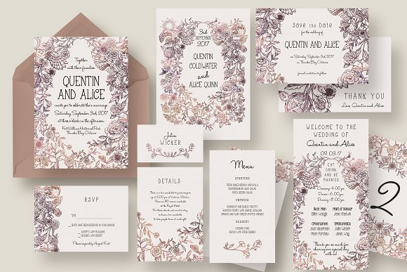 Magical Collage Wedding Suite