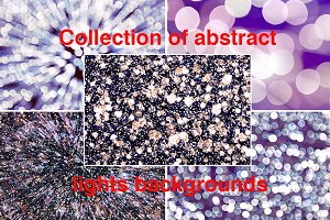 Collections of abstract backgrounds