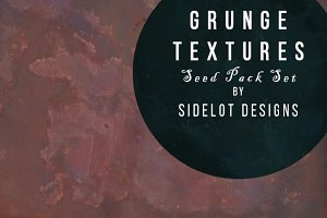 Grunge Texture Seed Pack of 9