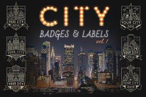City Badges vol.1