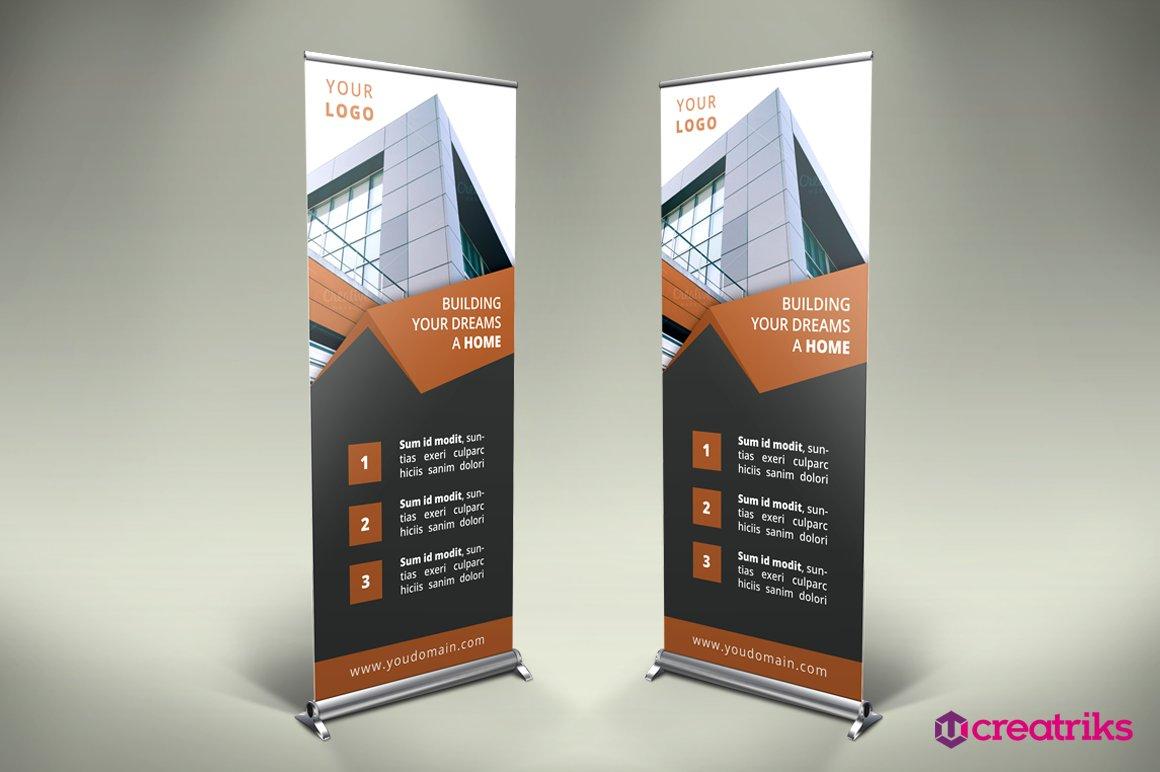 Real estate billboard design samples - Real Estate Roll Up