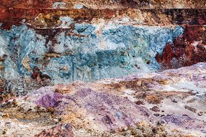 texture colors dust clay ground soil