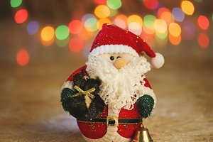 Christmas decorative Santa Claus