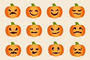 Halloween Pumpkins Collection