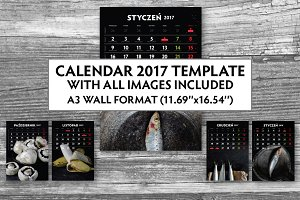 Calendar 2017 images included