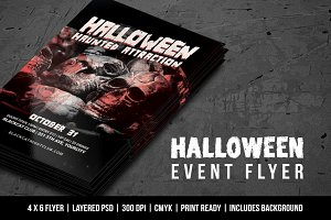 Halloween Event Flyer