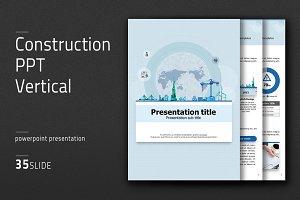 Construction PPT Vertical