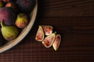 Plate Full of Figs