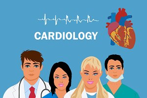 cardiology concept, heart doctor