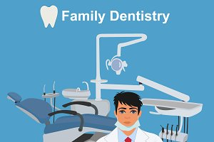 dentist, family dentistry concept