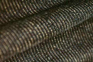 Black Denim fabric