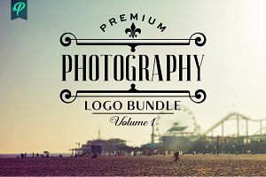 Premium Photography Logo Bundle