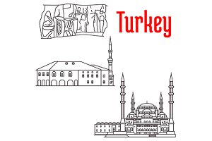 Landmarks of Turkey