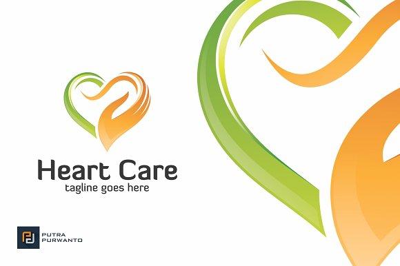 heart care logo template logo templates creative market