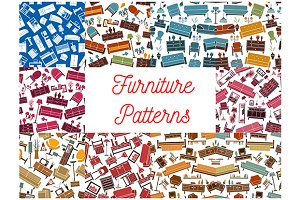 Furniture room interior patterns