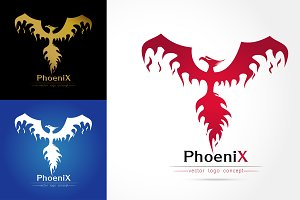 elegant Phoenix Logo