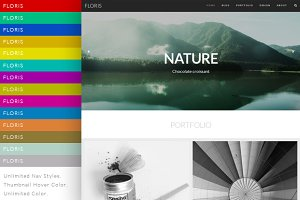 Floris Responsive Wordpress Theme